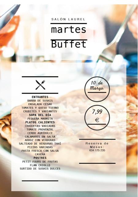 Buffet 10:03