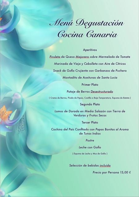 Menú Cocina Canaria
